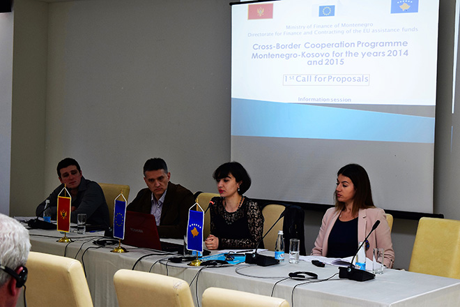 Information sessions with regard to launching 1st Call for Proposals under CBC Programme Montenegro-Kosovo 2014-2020 - Bijelo Polje