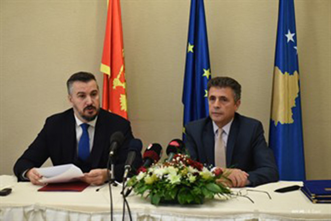 Signed Bilateral Arrangement and Partnership Agreement between Montenegro and Kosovo