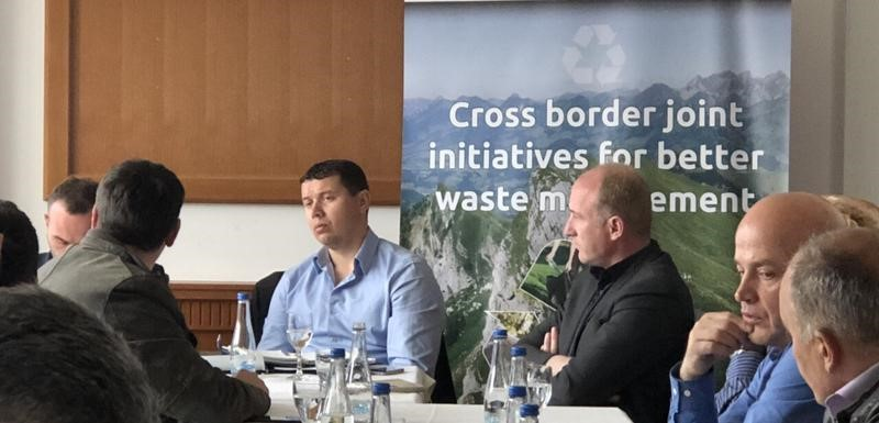 "Project ""Cross border joint initiatives for better waste management"" presented"