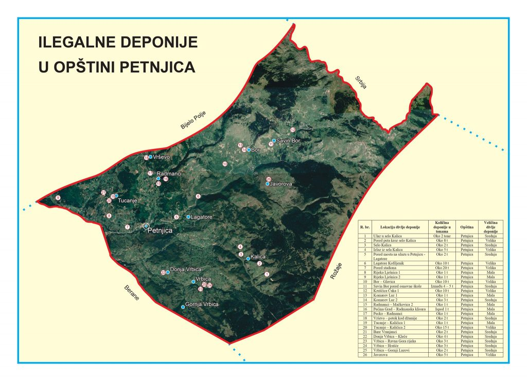 Dovršeno je mapiranje deponija
